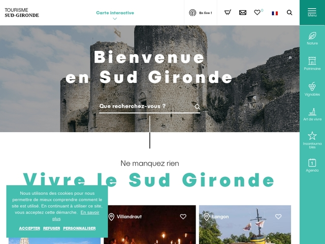 Office de Tourisme du Sud Gironde