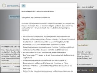 Vorschaubild der Webseite Senioren-Wohnpark Leipzig Eutritzscher Markt