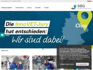 Vorschaubild der Webseite Sächsische Bildungsgesellschaft für Umweltschutz und Chemieberufe Dresden mbH