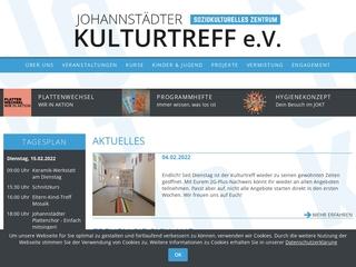 Vorschaubild der Webseite Johannstädter Kulturtreff e. V.