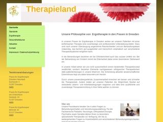 Vorschaubild der Webseite Ergotherapiepraxis Peggy Erbes