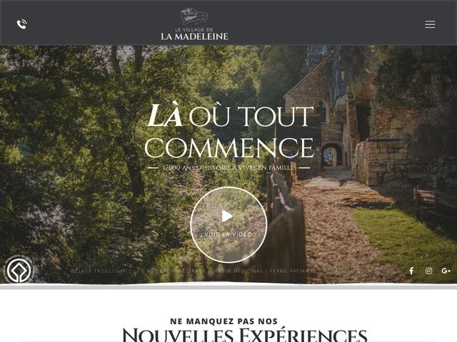 Le village de la Madeleine