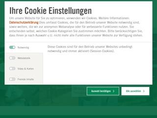 Vorschaubild der Webseite von Asklepios Klinikum Uckermark
