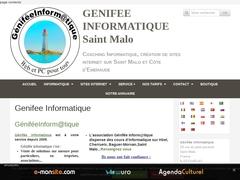 Site internet et dépannage et vente de matériel  informatique St Malo
