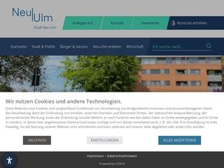 Vorschaubild der Webseite von Familienzentrum Neu-Ulm