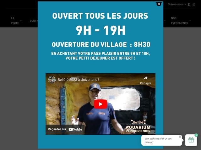 Aquarium Périgord Le Bugue