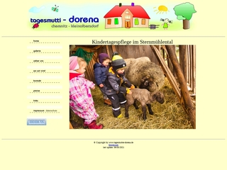 Vorschaubild der Webseite von Kindertagespflege im Sternmühlental