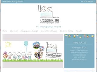 Vorschaubild der Webseite von Tagesmutter Heikes Krabbelkiste