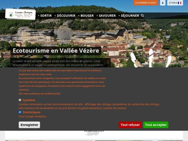 Lascaux Dordogne Office de Tourisme de la Vallée Vézère