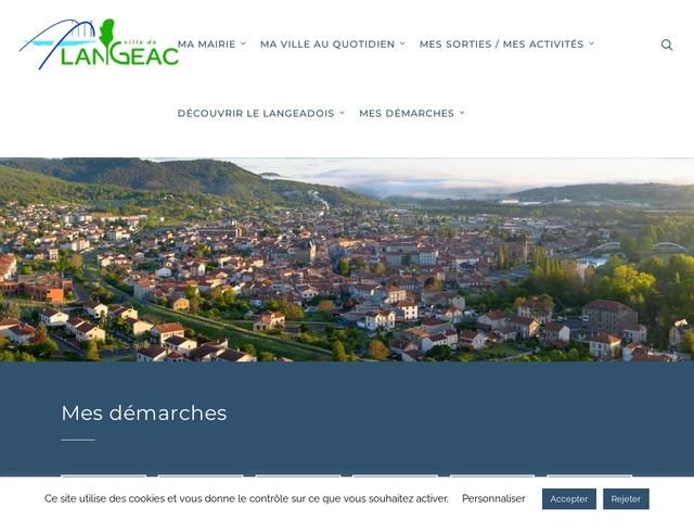 Ville de Langeac
