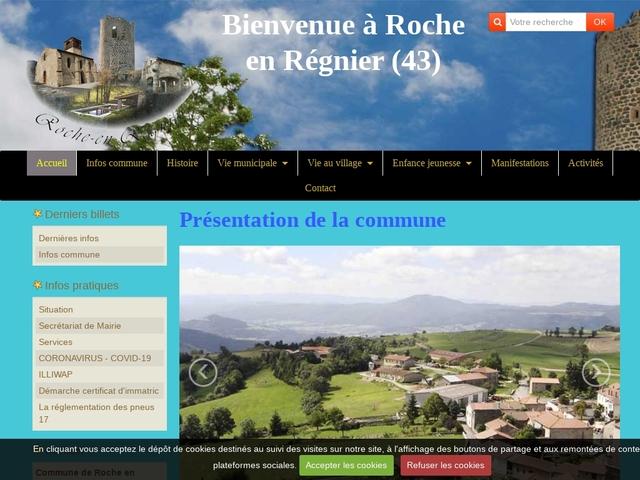 Roche en Régnier