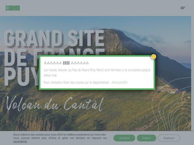 Puy Mary Grand Site de France