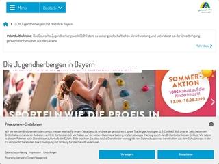 Vorschaubild der Webseite von Jugendherberge Feuchtwangen
