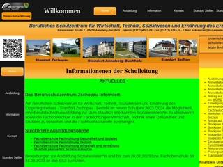 Vorschaubild der Webseite von Berufliches Schulungszentrum