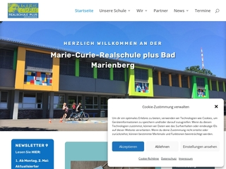 Vorschaubild der Webseite von Realschule Plus Bad Marienberg