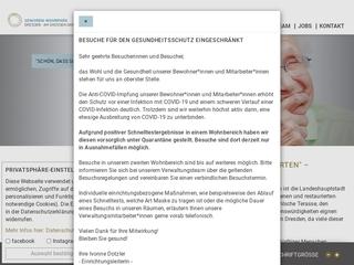 Vorschaubild der Webseite von Senioren-Wohnpark Dresden Am Großen Garten