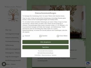 Vorschaubild der Webseite von Hebammenpraxis UNIkum