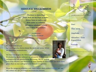 Vorschaubild der Webseite von Hebamme Tina Wünsche