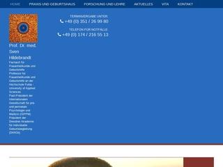 Vorschaubild der Webseite von Frauenarztpraxis