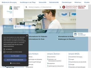 Vorschaubild der Webseite von Ev.-luth.-Diakonissenanstalt Dresden e.V. Berufsfachschule für Krankenpflege, Berufsfachschule für Altenpflege