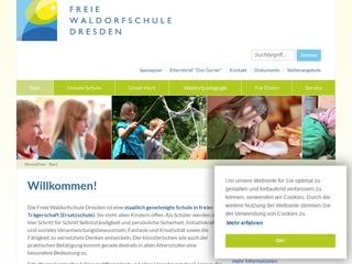 Vorschaubild der Webseite von Freie Waldorfschule Dresden
