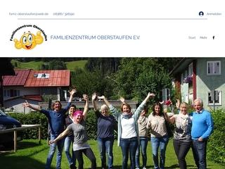 Vorschaubild der Webseite von Familienzentrum Oberstaufen
