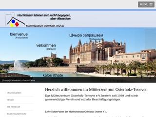 Vorschaubild der Webseite von Mütterzentrum Osterholz Tenever e.V.