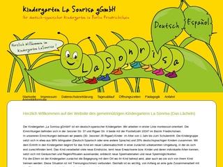 Vorschaubild der Webseite von Deutsch-spanischer Kindergarten La Sonrisa gGmbH
