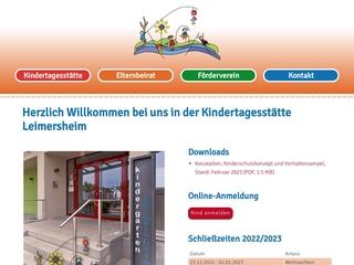 Vorschaubild der Webseite Kindergarten