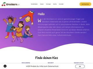 Vorschaubild der Webseite von Kindertagesstätte Kalle Kirschkern e.V.