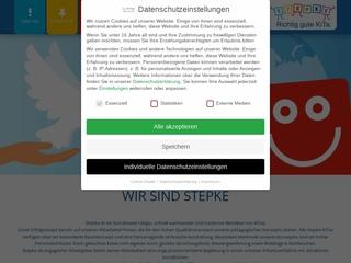 Vorschaubild der Webseite von Kindertagesstätte Tannenzapfen