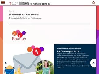 Vorschaubild der Webseite von Kindertagesstätte Am Nonnenberg