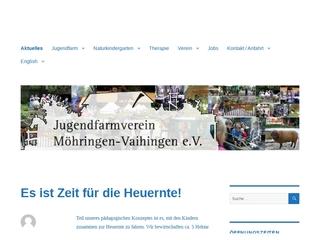 Vorschaubild der Webseite von Jugendfarm Möhringen-Vaihingen e.V.
