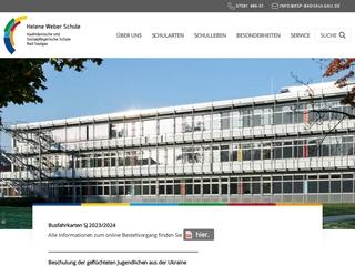 Vorschaubild der Webseite Berufsfachschule für Altenpflege/Altenpflegehilfe