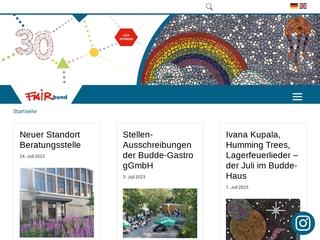 Vorschaubild der Webseite von FAIRbund e. V. - Wellcome