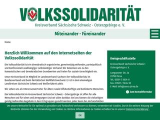 Vorschaubild der Webseite von Betreutes Wohnen Bad Gottleuba