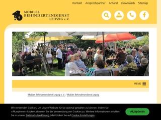 Vorschaubild der Webseite von Begegnungsstätte Mobile des Mobilen Behindertendienstes Leipzig e.V.