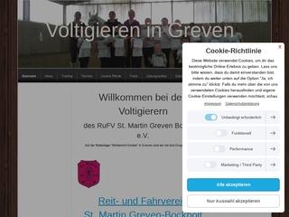 Vorschaubild der Webseite von Kinderbetreuung/Voltigieren