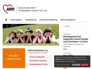 Vorschaubild der Webseite von Kindertagesstätte  Am Fuchsgrund