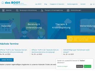 Vorschaubild der Webseite von Notunterbringung