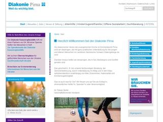 Vorschaubild der Webseite von Sozialstation der Diakonie