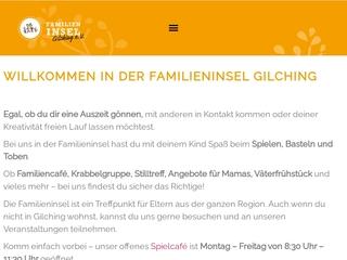 Vorschaubild der Webseite von Familieninsel Gilching e.V.