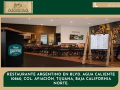 Restaurante Comida Internacional - Fonda Argentina