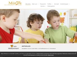 Vorschaubild der Webseite von Mütter-und Familienzentrum Ammerbuch