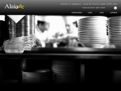 Restaurante Comida Internacional - Restaurante Alaia