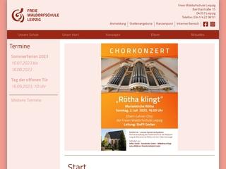 Vorschaubild der Webseite von Freie Waldorfschule - Gymnasium