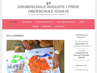 Vorschaubild der Webseite von Oberschule Gohlis