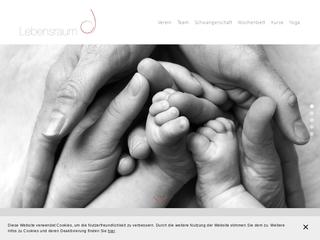 Vorschaubild der Webseite von Hebammen  Ilka Höfling und Kathrin Kamler