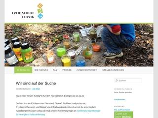 Vorschaubild der Webseite von Mittelschule der freien Schule Leipzig e.V.