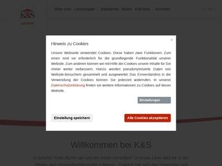 Vorschaubild der Webseite von K und S Seniorenresidenz Haus Muldental